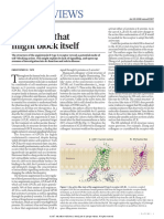 A Receptor That Might Block Itself-Nature Review