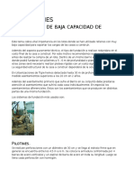 FUNDACIONES en Terrenos de Baja Capacidad Soporte