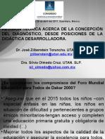 Revisión teórica acerca de la concepción del diagnóstico, desde posiciones de la didáctica desarrolladora