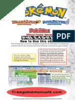 PokemonPocketPokedex(HeartGold&SoulSilver)PrimaGuides