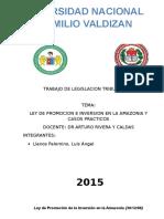 Trabajo de Legislacion Tributaria III