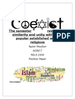 religion position paper