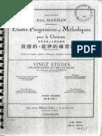 Jean-Jean 1º Caderno