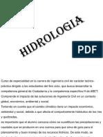1 - Hidrologia