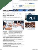 Elementos necesarios para una planificación exitosa.pdf