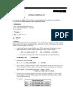 Formulas y Ejemplos CTS