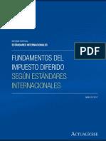 Ieei 04 2017 Fundamentos Del Impuesto Diferido Segun Estandares Internacionales