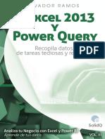 Volumen 3. Excel 2013 y Power Query