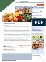 Hipertensión y Alimentación