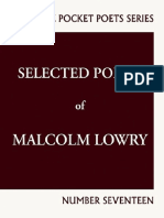 Selected Poems of Malcolm Lowry Excerpt