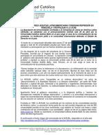 Comunicado Ausjal Respaldo Ucab Contra Represión-27abril