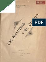 Las Amazonas y El Dorado de Manuel Domínguez. Tall. Nac. Kraus año 1902