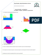 Matemática-Revisão - Geometria Plana, Polígono, Triângulo, Quadrilátero e Trigonometria