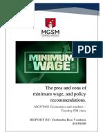 Economics Report - 44158408