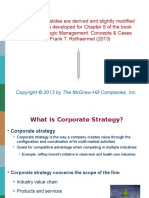 Chapter 8 - Corporate Strategy