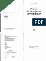 A Unidade Do Conhecimento Consiliencia (1) (1)