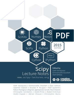 Python ScipyLectures-simple pdf | Python (Programming