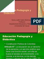 51091322-2005-02-07-Educacion-Pedagogia-Didactica.ppt