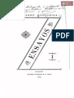 Ensayos, de Silvano Mosqueira,Talleres Nacionales Kraus. Asunción año 1902