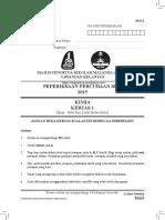 Trial Kelantan 2015 Kimia With Jawapan