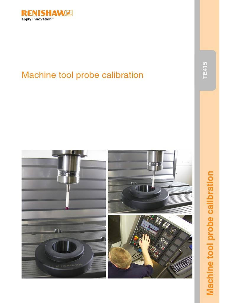 TE415 Machine Tool Probe Calibration | Calibration | Equipment