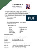 Cv 2017 Documentado PDF Palomino c.