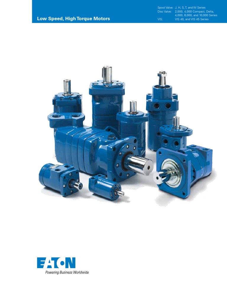 pll_1323_ Low Speed, High Torque Motors Eaton | Transmission ...