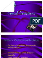 Sexual Deviations