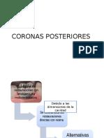 Coronas Posteriores Cap 30