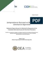 Jurisprudencia_Nacional Esp RELE CIDH