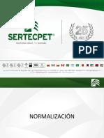 Charla de Normalizacion Sertecpet