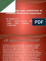 Instituciones Que Conforman El Sistema Financiero Mexicano