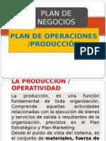 Plan de Produccion u Operaciones
