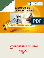 Gustavo Samaniego Elaboracion Del Plan de Negocios II
