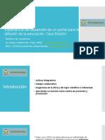 Experiencia del desarrollo de un portal para la difusión de la educación