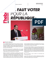 L'Hebdo des socialistes n°861