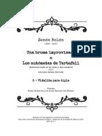 Rolon Vidalita Para Tiple - Partitura Completa