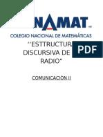 Esttructura Discursiva de La Radio