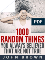 1000 Random Things You Always B - John Brown