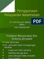 Model Penggunaan Pelayanan Kesehatan