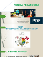 1. PSICOTÉNCNICA PEDAGÓGICA