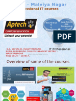 Aptech-Malviya Nagar centre|The Best to impart IT knowledge