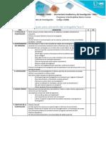 Lista de Chequeo Para Valoración Del Entregable Fase 3