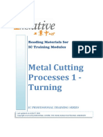 Metal Cutting Processes 1 – Turning
