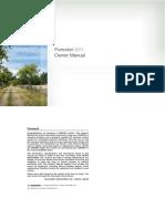 Manual Proprietário Forester 2011