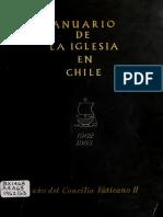 "Chile, ""Anuario de la Iglesia en Chile 1962 - 1963"""
