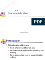 Ch09 Resource Allocation Crashcost