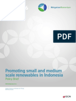 Policy Brief Promoting Small and Medium Scale Renewables in Indonesia March2016