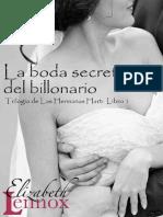 Elizabeth Lennox - hermanas hart 01 - La boda secreta del billonario.pdf