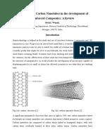 Carbon Nanotubes Reinforced Composites